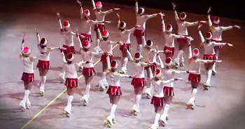 Synchronized Roller Skating Routine Will Take You WAY Back