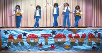 3rd Grader's Amazing Talent Show Performance Of 'I Want You Back' By Jackson 5