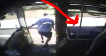 Bus Driver Heroically Saves Woman Who Passed Out While Driving