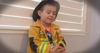 4-Year-Old's Prayer For Firefighters Has Captured The World's Heart