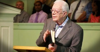 President Jimmy Carter Won't Let Cancer Stop Him From Teaching Sunday School