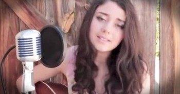 Young Girl Stuns The WORLD With Elvis Presley Classic 'Can't Help Falling In Love'