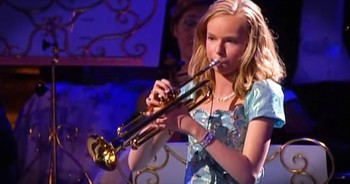 Young Girl's Trumpet Performance Is TOO Beautiful To Miss