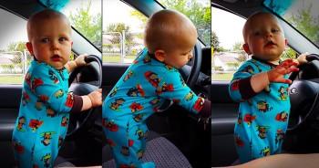 Precious Baby Dances Along To Radio – LOL!