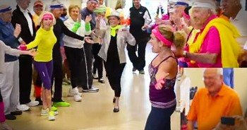 80-Year-Old Flash Mob Lover Gets Epic Surprise For Birthday