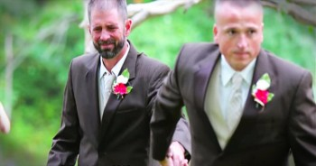 Her Dad Stopped Walking Her Down The Aisle And You'll LOVE Why!