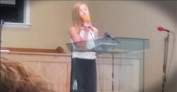 'The Lord's Touch' - 11-Year-Old Gives Country Song A Christian Makeover