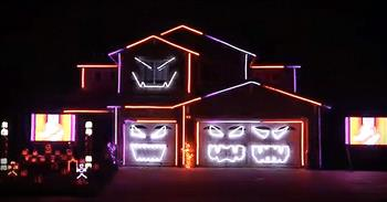Epic Halloween Light Show Will Leave You In AWE!