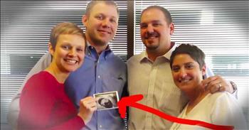 Cancer Survivor's Best Friend Gave Her A Shocking Surprise!
