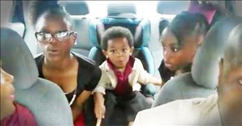 Family Sings Original Christian Song In Car And It Will Lift Your Soul
