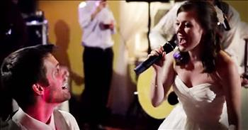 Bride Surprises Groom With The SWEETEST Song. WOW!