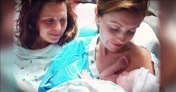 Couple's Story Of Heartbreak And Faith Ends With Tiny Miracle