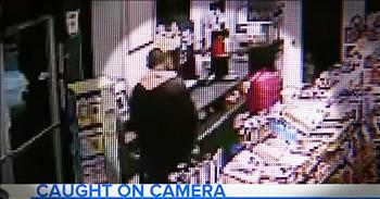Gas Station Clerk Saves Woman From Kidnapper