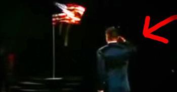 Paris Train Hero Emotionally Dances To 'America The Beautiful'