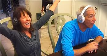 Couple Plays Whisper Game To Announce Pregnancy To Parents