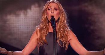 Celine Dion Sings Hymn For Paris Victims