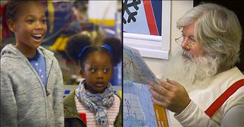 Santa Surprises Kids At The Mechanic – Best Reactions EVER!