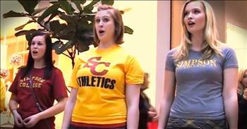 'Hallelujah Chorus' Christmas Flash Mob At Mall – WOW!