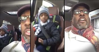 Little Boy's Pep Talk With Jesus Will Brighten Your Day!
