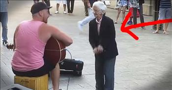77-Year-Old's Dance Moves Prove Age Is Just A Number