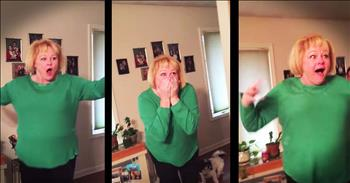 Grandma Gets The Surprise Of A Lifetime – WOW!
