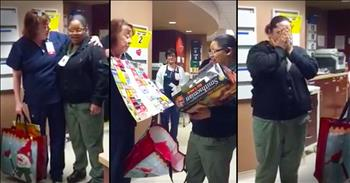 Hospital Worker's Surprise Will Have You In TEARS!