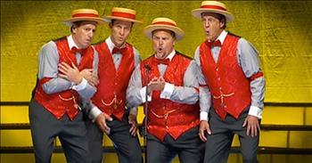 Barbershop Quartet Sings 'In Summer' – WOW!