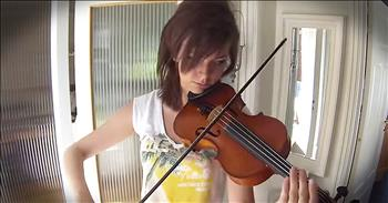 24-Year-Old Shares Incredible Journey Of Learning The Violin