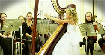 9-Year-Old Musical Prodigy Will WOW On The Harp