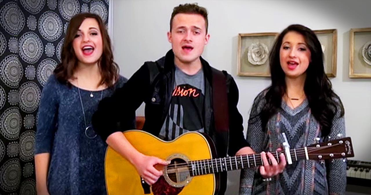Siblings Sing A Cappella Rendition Of 'Somewhere Over The Rainbow'