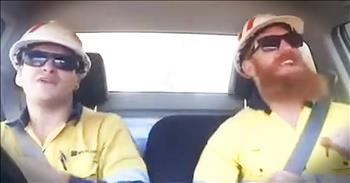Tough Construction Workers Show Their Softer Side With Emotional Song