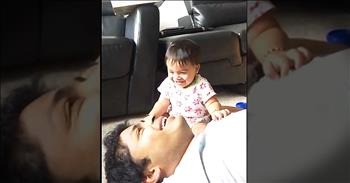 Little Cutie's Giggle Over Daddy's Sneeze Left Me ALL Smiles!
