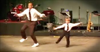 Tiny Tap Dancer And Teacher Will Blow You Away