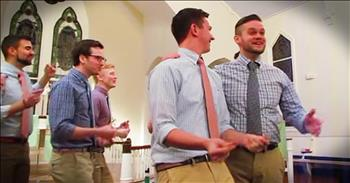Gentlemen's A Cappella Group Performs 'Ain't No Mountain High Enough'