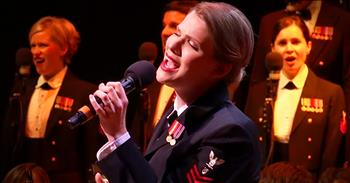 The United States Navy Band Performs Uplifting Rendition Of 'Fight Song'