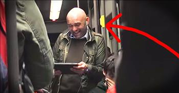 Subway Passenger Spreads Happiness Through Laughter