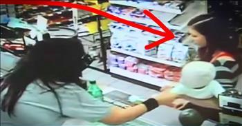 Store Clerk Grabbed Stranger's Baby Moments Before Mother Collapsed