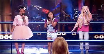 3 Children Sing Nostalgic Rendition Of 'The Shoop Shoop Song'
