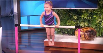 3-Year-Old Gymnastic Prodigy Will WOW You