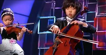 Quintet Of Musical Genius Kids Play Classical Number