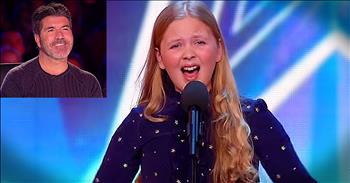 12-Year-Old's Broadway Audition Even Has Simon Smiling!