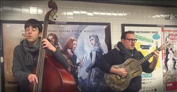 Street Musicians Whistle Incredible Tune In Subway