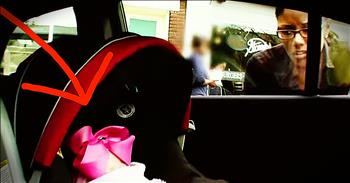 Social Experiment Records Stranger's Reaction To Baby In Hot Car