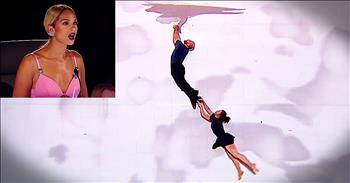 Powerful Visual Dance Act Leaves All The Judges Stunned