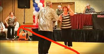 Talented Swing Dance Takes A Twist With Surprise Addition