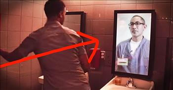 Shocking Anti-Drunk Driving Message To Man In The Mirror Is POWERFUL!
