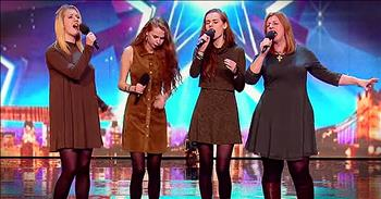 Mother And 3 Daughters Earn Standing Ovation With Musical Audition