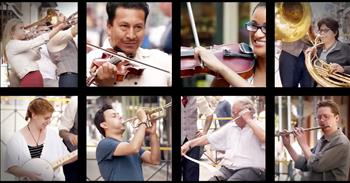 100 Strangers Play One Note And Join Together To Make A Song