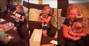 Young Girl With Prosthetic Leg Recieves Gift That Brings Her To Tears