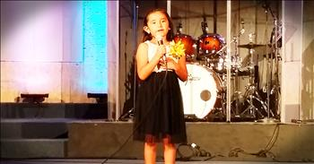 7-Year-Old Sings 'Wind Beneath My Wings' And It's Touching!
